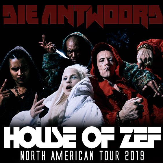 Thumbnail for Die Antwoord - House Of Zef USA Tour 2019