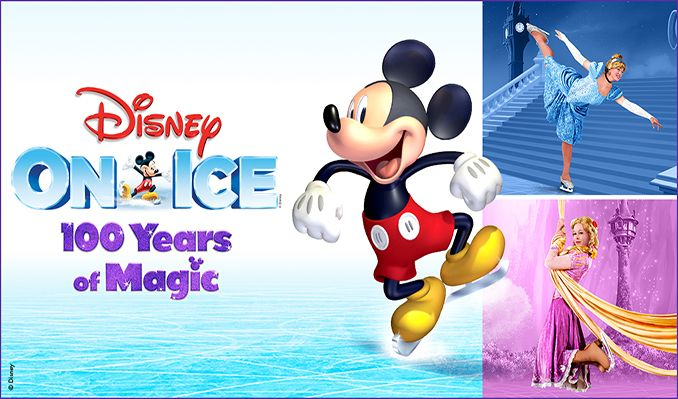 Disney On Ice celebrates 100 Years of Magic tickets at Westpoint Exeter, Exeter