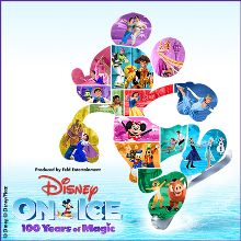 Disney On Ice celebrates 100 Years of Magic tickets at Braehead Arena, Glasgow