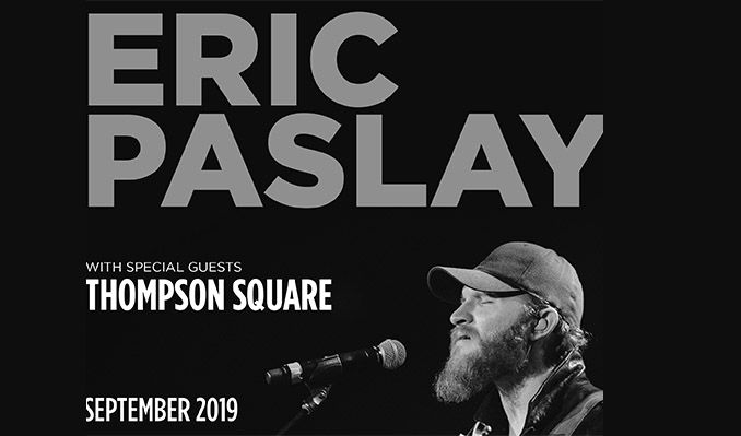 Eric Paslay tickets at Band on the Wall in Manchester