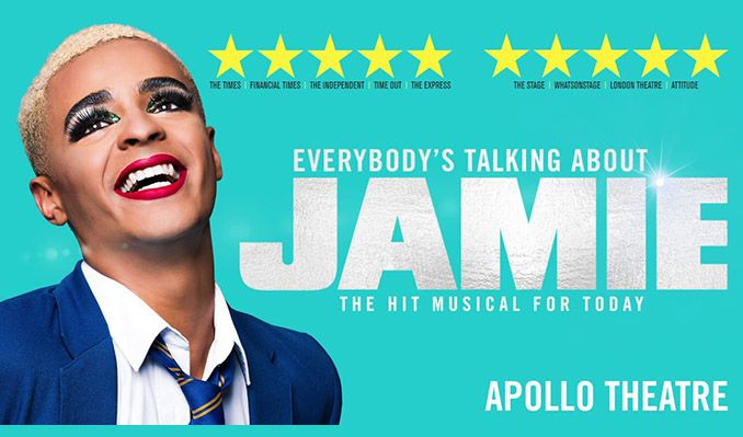 Everybody's Talking About Jamie - Booking until 29 August 2020 tickets at Apollo Theatre in London