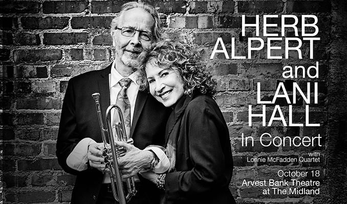 Herb Alpert & Lani Hall tickets in Kansas City at Arvest