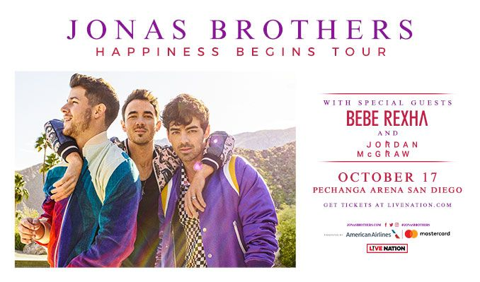 Jonas Brothers tickets at Pechanga Arena San Diego in San Diego