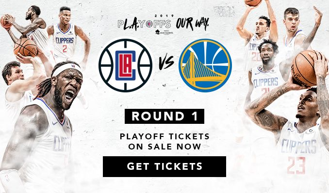 LA Clippers vs Golden State Warriors - Round A Home Game 2 tickets at STAPLES Center in Los Angeles