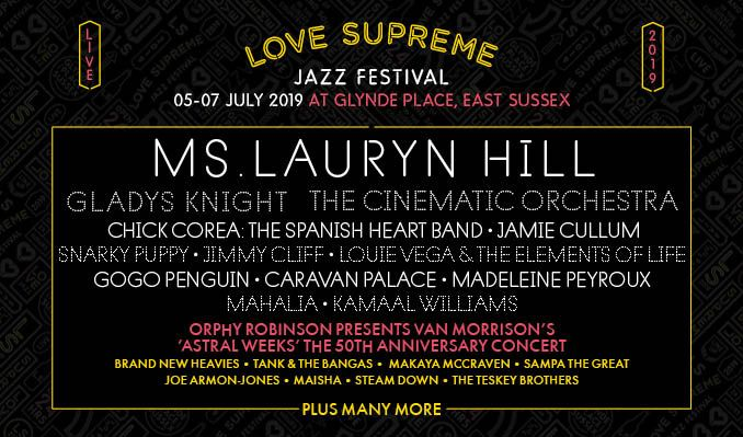 302146748b106 Love Supreme Jazz Festival - Saturday Tickets tickets at Glynde Place in  Lewes