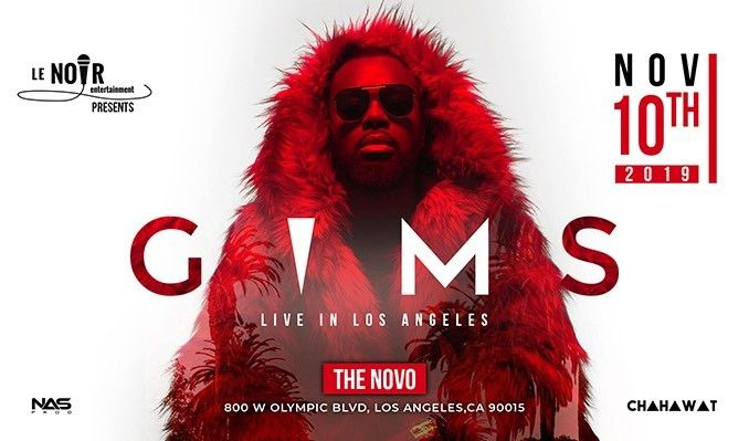 Maitre Gims Live in LA tickets at The Novo in Los Angeles