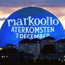 Markoolio tickets at ERICSSON GLOBE/Stockholm Live in Stockholm
