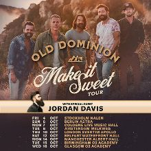 Old Dominion tickets in London at Eventim Apollo on Thu, 10 Oct 2019