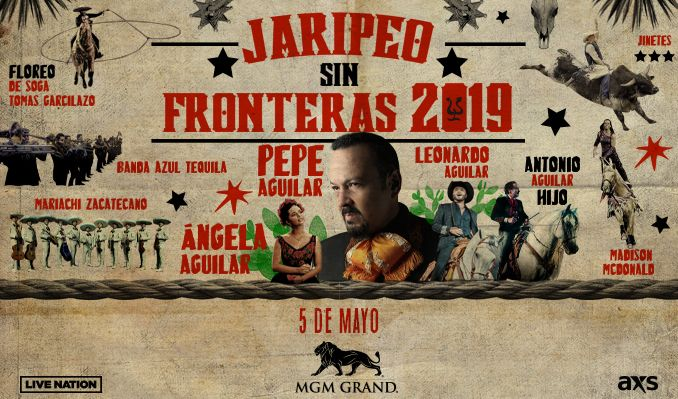 AEG Live   Pepe Aguilar Y Familia Presentan Jaripeo Sin