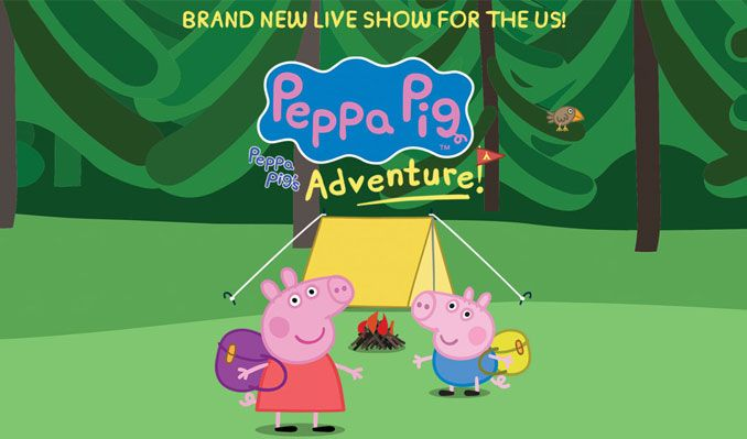 Peppa Pig Live! tickets at Microsoft Theater in Los Angeles
