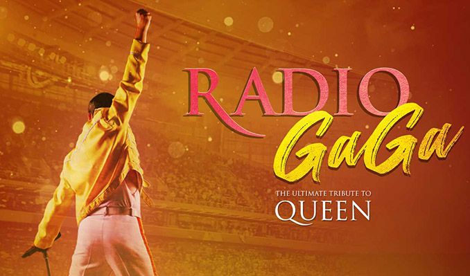 Radio Ga Ga - Celebrating the Champions of Rock Queen tickets at Brentwood Leisure Centre in Essex