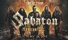 Sabaton tickets at The Complex in Salt Lake City