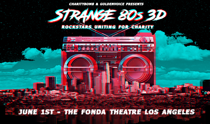 Strange 80s 3D tickets at Fonda Theatre in Los Angeles