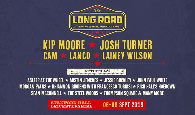 The Long Road Festival 2019 - Saturday Tickets tickets at Stanford Hall in Lutterworth