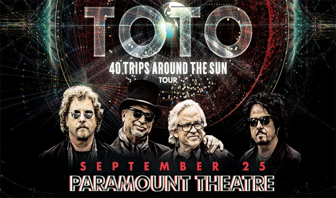 Toto: 40 Trips Around The Sun  tickets at Paramount Theatre in Denver