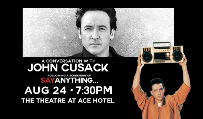 John Cusack plus Say Anything - Cancelled tickets at The Theatre at Ace Hotel in Los Angeles