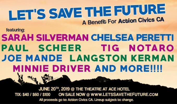 56a7295c0957b LET S SAVE THE FUTURE! A Benefit For Action Civics CA tickets in Los ...