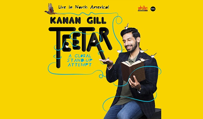 Kanan Gill Live - Teetar tickets at Infinite Energy Theater in Duluth