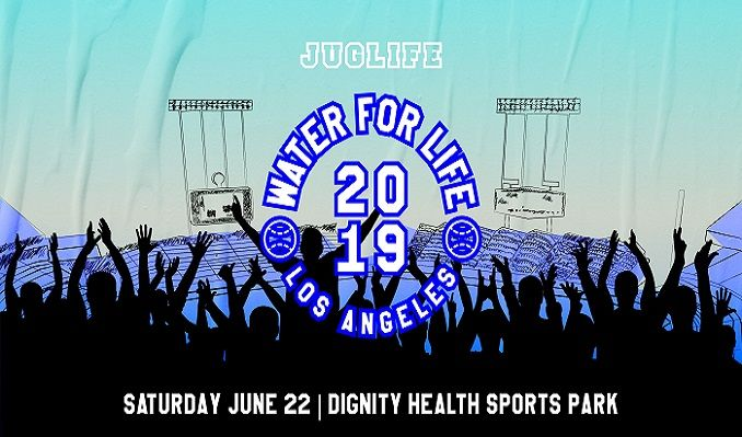 JUGLIFE presents The Water For Life Event Hosted by JaVale McGee tickets at Dignity Health Sports Park in Carson