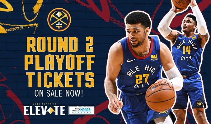 0cbaf03429de 2019 Denver Nuggets Playoffs vs. Portland Trail Blazers tickets in ...
