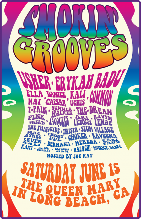 Smokin Grooves 2019 Line Up Poster
