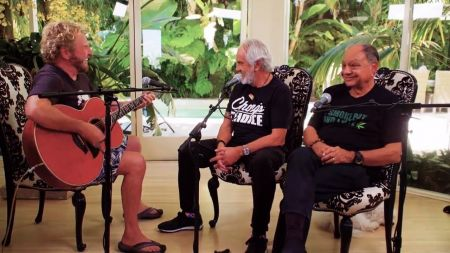 AXS TV's 'Rock & Roll Road Trip' sneak peek: Sammy Hagar chats and jams with Cheech & Chong on May 12