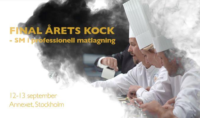 Finalen av Årets Kock 2019 tickets at ANNEXET/Stockholm Live in Stockholm