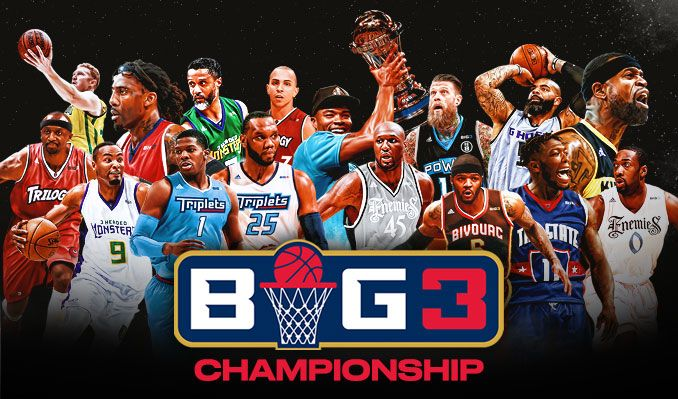 BIG3 tickets at STAPLES Center in Los Angeles