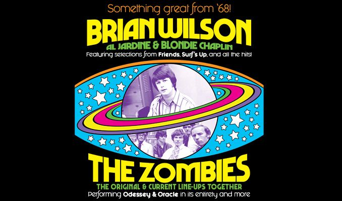 Brian Wilson and The Zombies tickets at Masonic Temple Theatre in Detroit