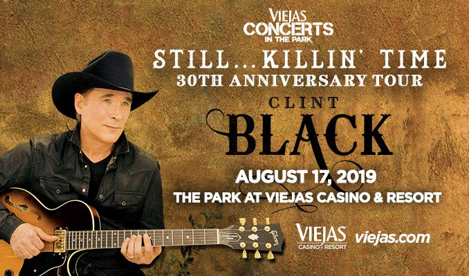 Clint Black tickets at Viejas Concerts in the Park in Alpine