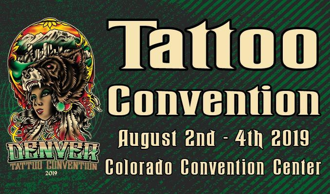 Denver Tattoo Arts Convention tickets in Denver at Colorado ...