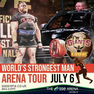 The World's Strongest Man Arena Tour