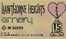 Hawthorne Heights + Emery: 15th Anniversary tickets at The Roxy in Los Angeles