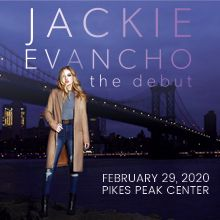 Jackie Evancho with Strings tickets at Pikes Peak Center in Colorado Springs