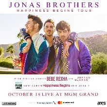 Jonas Brothers tickets at MGM Grand Garden Arena in Las Vegas