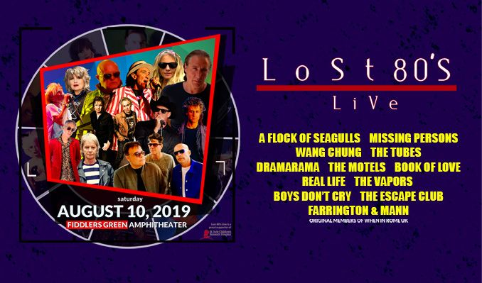 Lost 80's Live tickets in Greenwood Village at Fiddler's Green