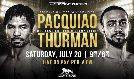 Pacquiao vs Thurman tickets at MGM Grand Garden Arena in Las Vegas