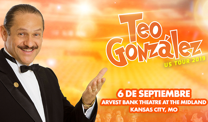 Teo Gonzalez tickets in Kansas City at Arvest Bank Theatre at The