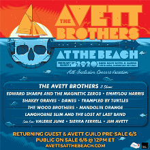 The Avett Brothers At The Beach tickets at Hard Rock Hotel & Casino in Punta Cana