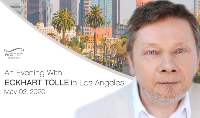 An Evening With Eckhart Tolle  tickets at Shrine Auditorium in Los Angeles