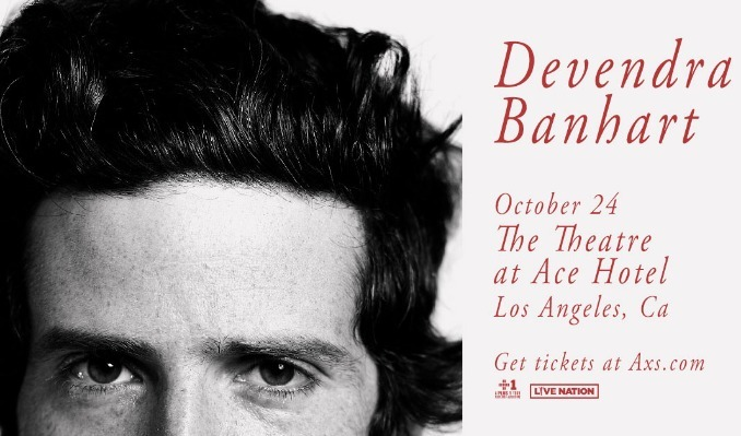 Devendra Banhart tickets at The Theatre at Ace Hotel in Los Angeles