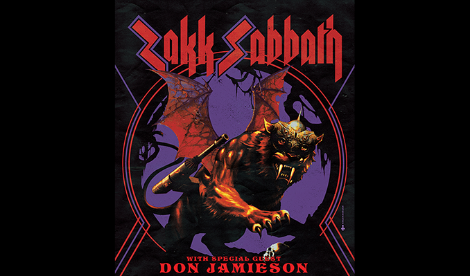 Zakk Sabbath tickets in Kansas City at Arvest Bank Theatre at The