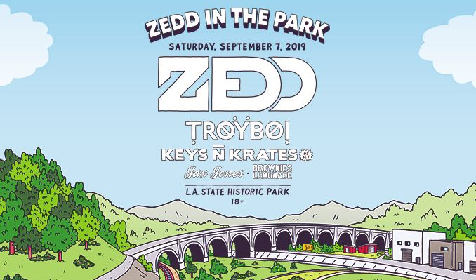 Zedd in the Park tickets at Los Angeles State Historic Park in Los Angeles