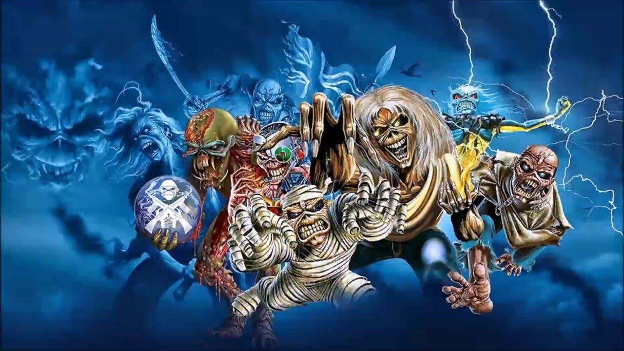 The complete evolution of Iron Maiden's Eddie