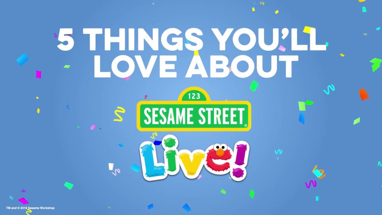 5 reasons why Sesame Street Live is the perfect family event