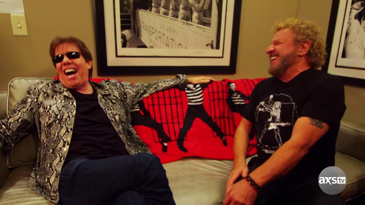AXS TV's 'Rock & Roll Road Trip' sneak peek: Sammy Hagar goes to Graceland, chats with George Thorogood on June 16
