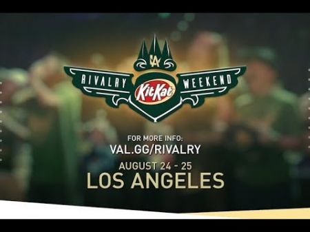 Overwatch League's LA Valiant to host Kit Kat Rivalry Weekend