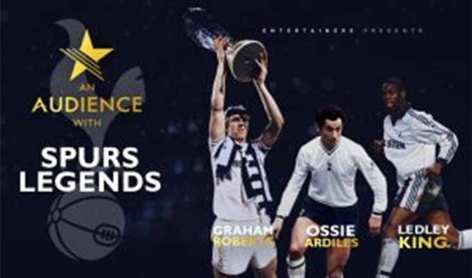 An Audience With: Spurs Legends tickets at Brentwood Leisure Centre, Essex