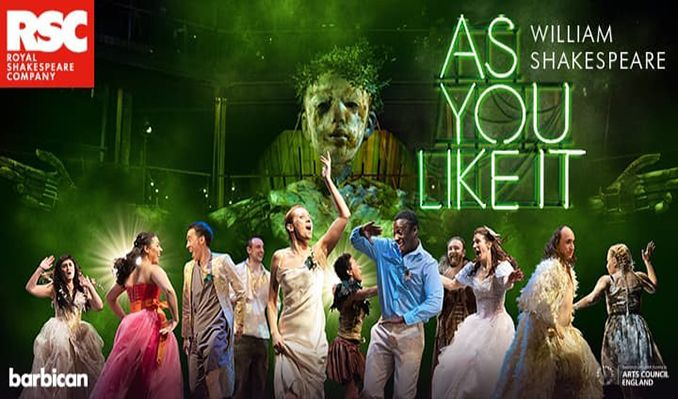 As You Like It tickets at London Barbican, London