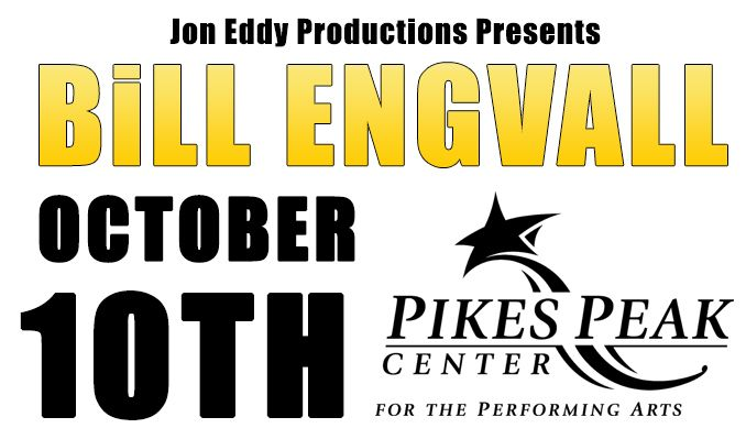 Bill Engvall tickets at Pikes Peak Center in Colorado Springs